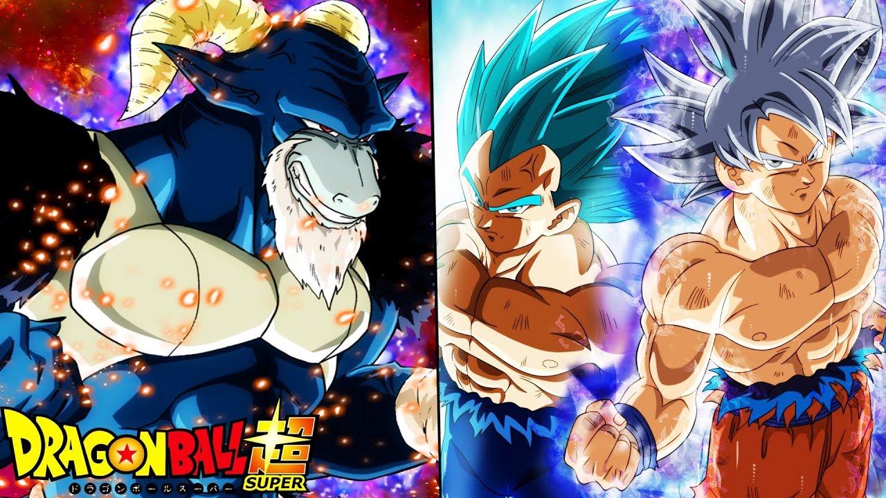 Goku vs Moro