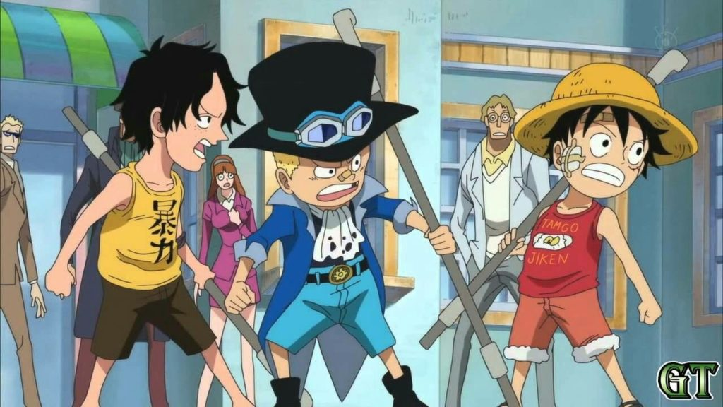 Oda Releases New One Piece Ace & Sabo Official Wano Makeovers