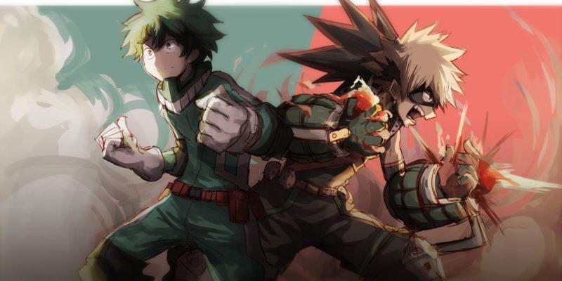 My Hero Academia Chapter 277: Bakugo & Midoriya Rise To Save Their Teacher