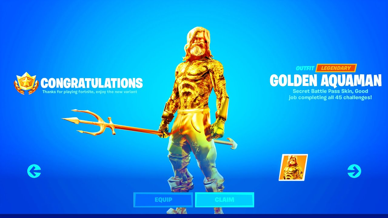 Fortnite Is Teasing An Aquaman Skin At Doomsday Device Event