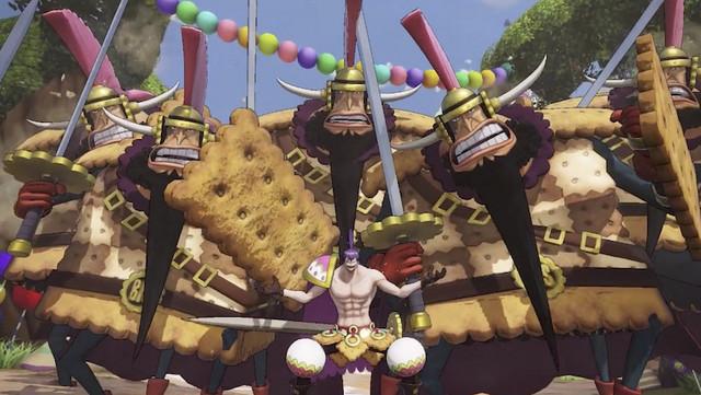 One Piece: Pirate Warriors 4 - New Charlotte Cracker Gameplay