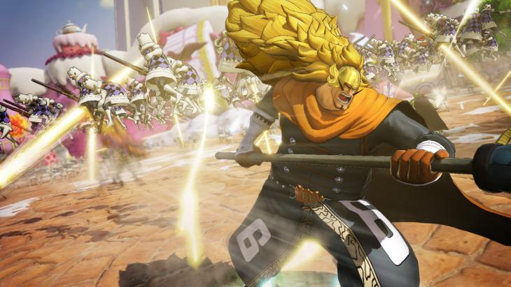 One Piece Pirate Warriors 4: Vinsmoke Judge DLC Game-play Revealed