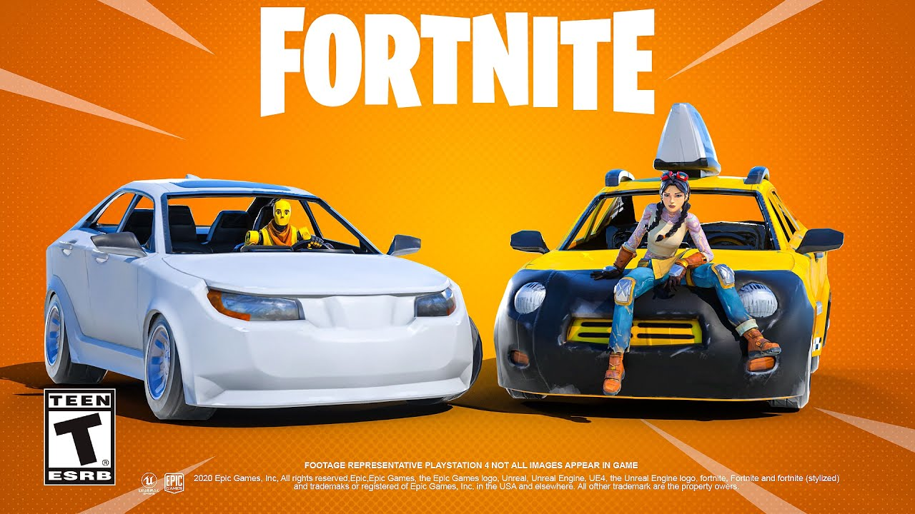 Fortnite Announces Delayed Release Of Its Upcoming Cars