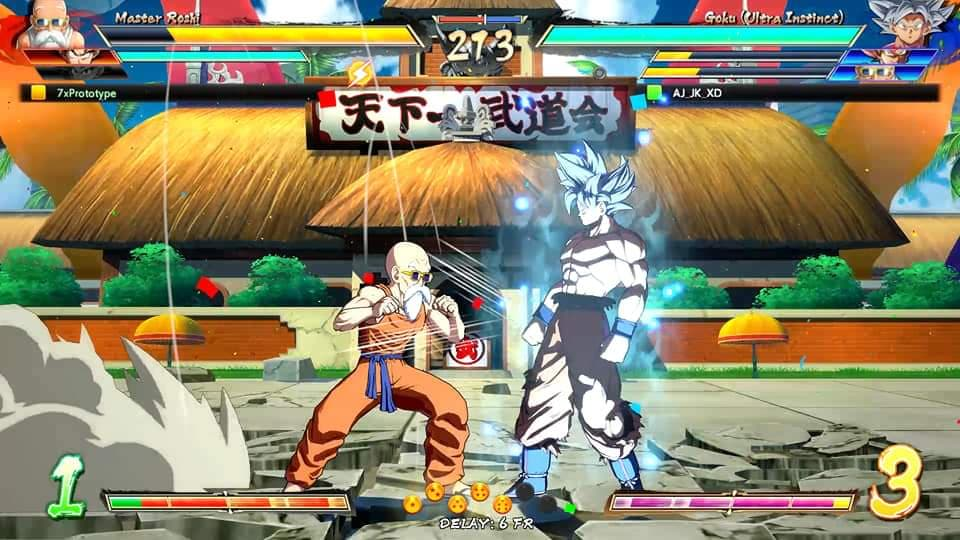 Dragon Ball FighterZ: Evidence Master Roshi Has Ultra Instinct In Game
