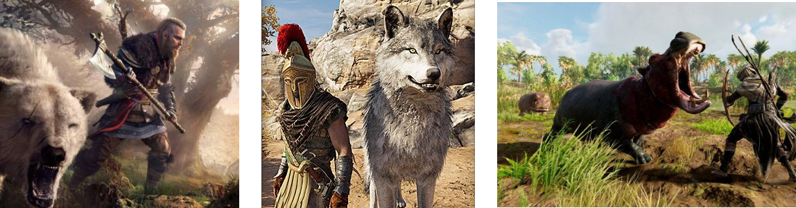 Assassin's Creed: Which Game Has The Most Dangerous Wildlife?
