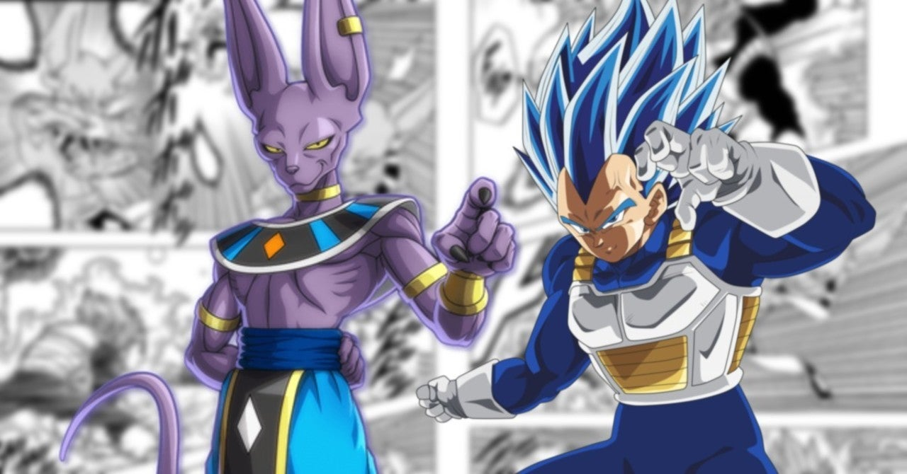 Manga Reveals The Source Of Beerus's Power & Vegeta's Future Abilities