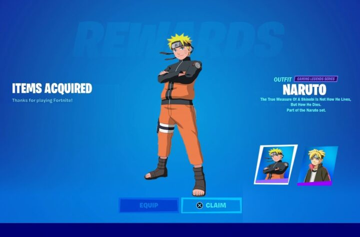 Fortnite Reveals Plans For Naruto Uzumaki Skin & Possible Weapons
