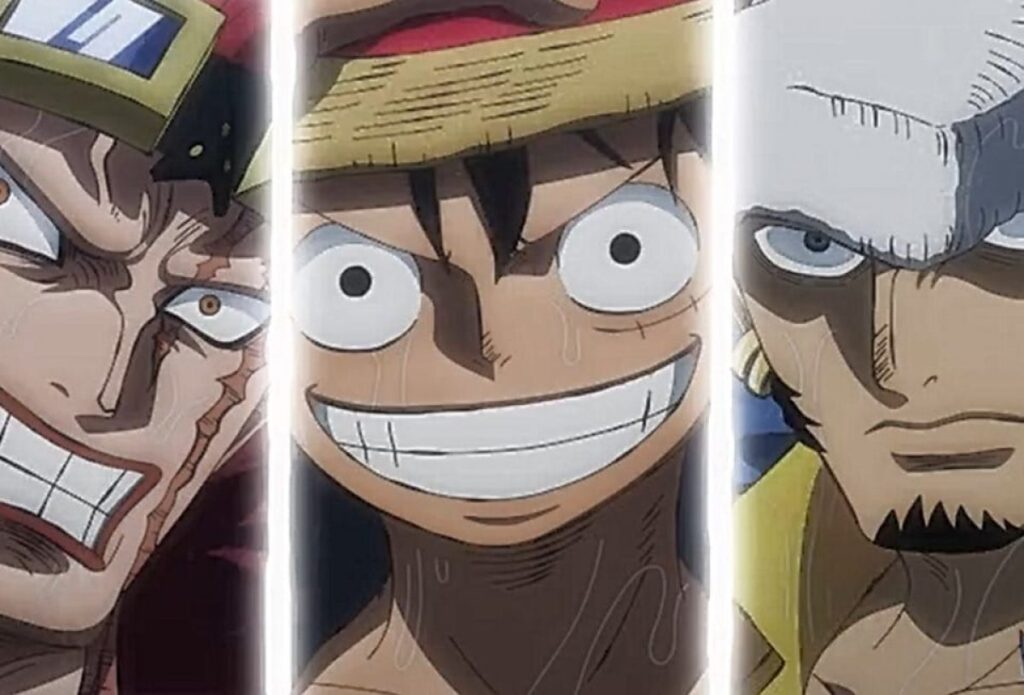 One Piece Episode 978: The Worst Generation Storm The Sea