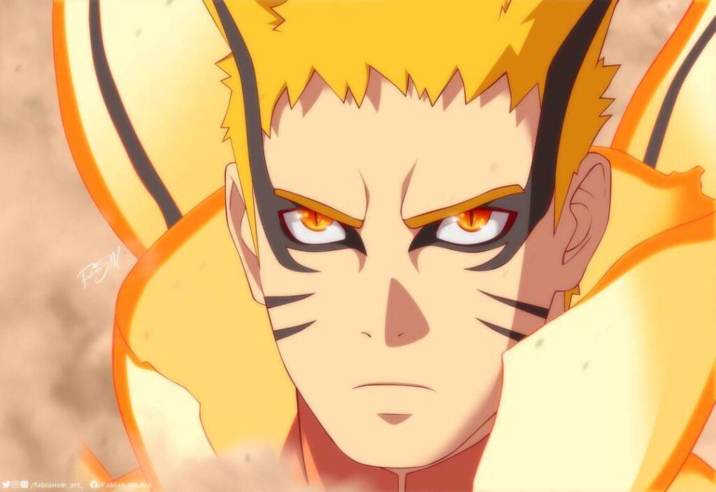 Boruto Anime Animates Naruto's New Baryon Mode For The First Time
