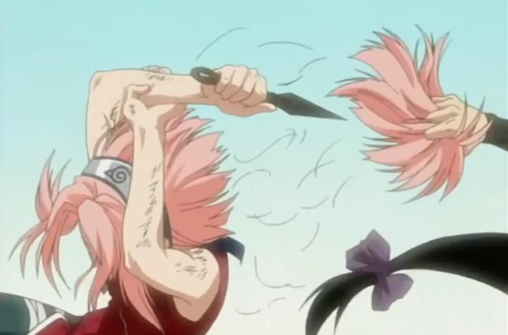 """Crunchyroll Chooses """"Sakura Cutting Her Hair"""" Scene To Advertise Naruto"""