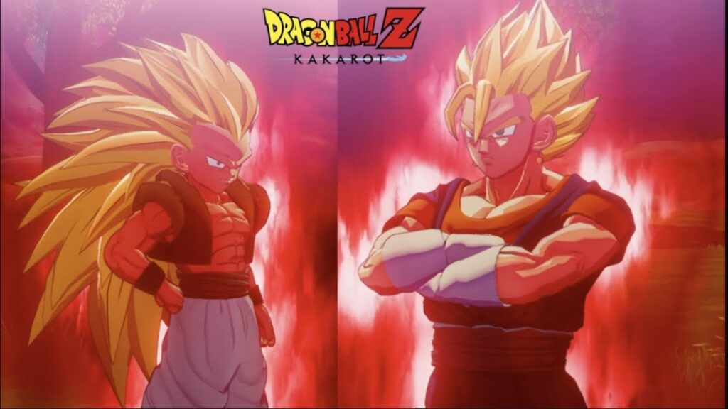 Nintendo Exclusive Gotenks & Vegito Dragon Ball Z: Kakarot DLC