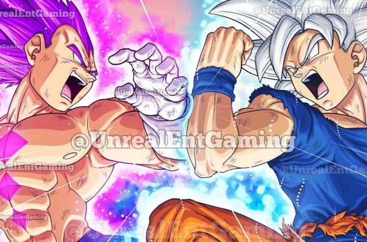 Dragon Ball Super Movie Ultra Instinct Vegito & Gogeta God Of Destruction